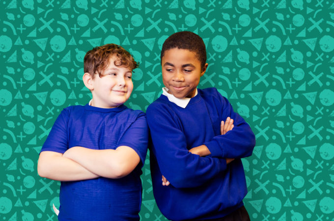 BCA receives award nomination for Culture Challenge - boys in front of a green background