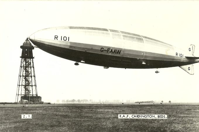 Imperial Airship Dreams at Bedford Central Library R101